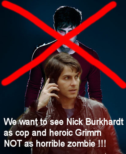 ویژن ٹیلی پیپر وال titled Grimm - Nick Burkhardt - Season 3