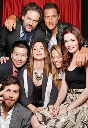 Grimm cast TvGuide Photoshoot