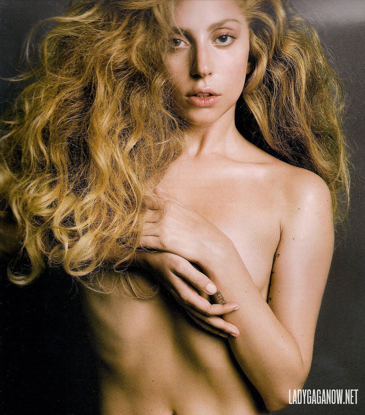 HQ Scans of Gaga's 照片 for V Magazine