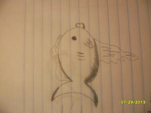 Hand Drawn অনুরাগী Art