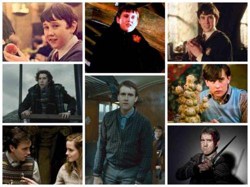 Harry Potter wallpaper called Harry Potter Characters Evolution