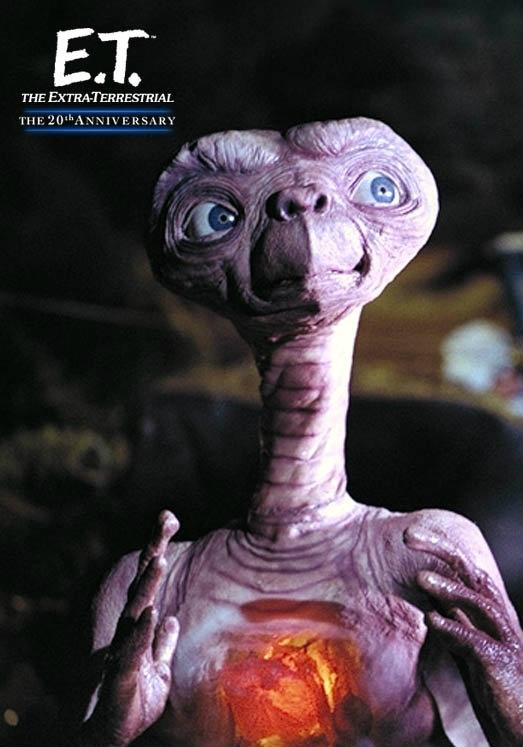 ETのお腹がひかるアップの壁紙