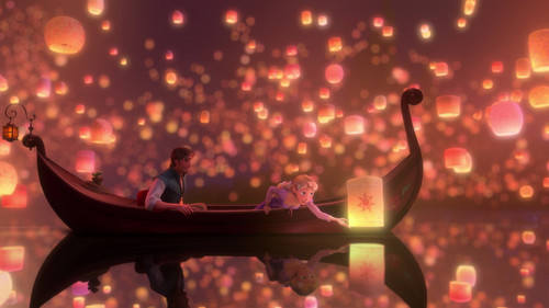 Flynn And Rapunzel Wallpaper Probably Containing A Street Called I See The Light 3