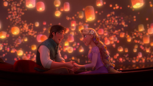 Flynn And Rapunzel Wallpaper Entitled I See The Light 3