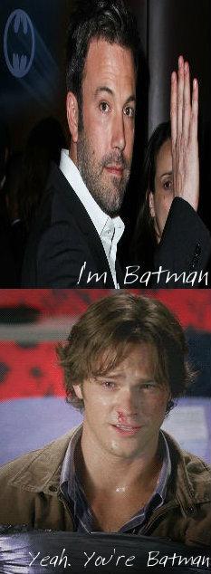 I'm बैटमैन