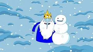 Ice King and Snow