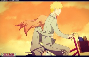 Ichigo's and Orihime's momments