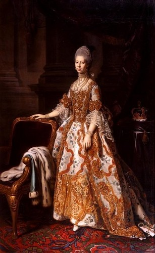 Kings and Queens wallpaper probably containing a polonaise and a kirtle called Isabella Farnese, Queen of Spain