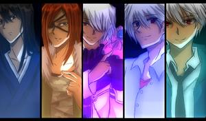 Ishida Akira characters...