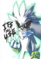 It's no use - silver-the-hedgehog photo