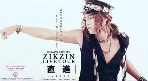 チャン・グンソク 壁紙 with a portrait titled JGS Zikzin