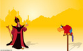Jafar And Iago - disney-princess wallpaper