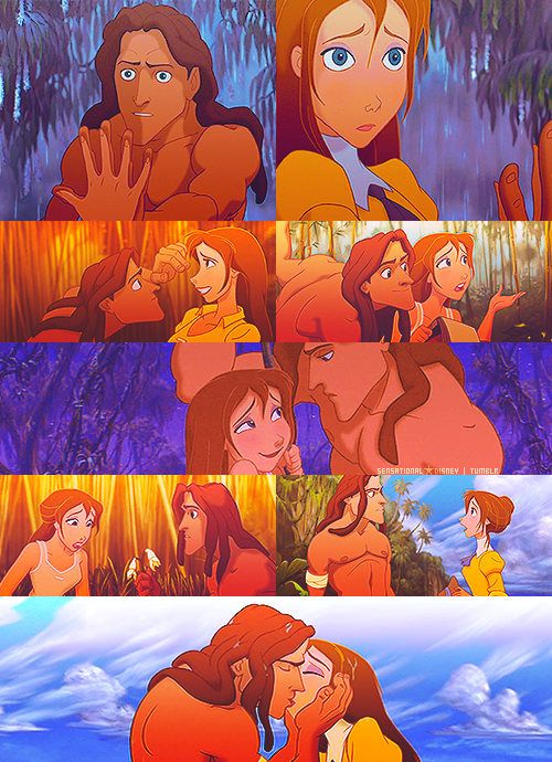 Jane and Tarzan