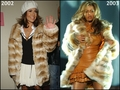Beyonce copies Jennifer Lopez [JLo 2002 vs Beyonce 2003] - jennifer-lopez fan art