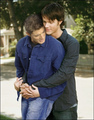 Jensen/Jared - wincest photo