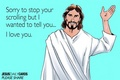 Jesus Loves you - christianity photo