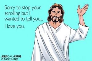 Hesus Loves you