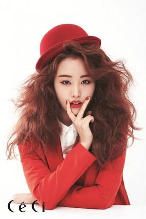 Ji Eun for 'CeCi'