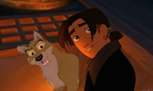 Jim and Balto
