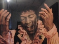 Jimmy Hendrix and the King Elvis presly - classic-rock photo