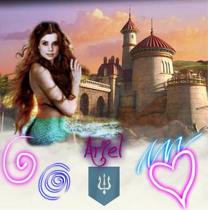 Joanna as Ariel por Eric's castillo
