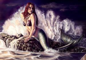 Joanna Garcia as Ariel fanart