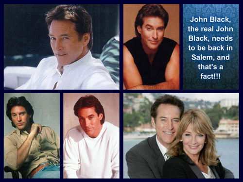 Days of Our Lives wallpaper entitled John Black