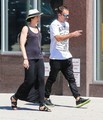 Jonny Lee Miller Spends the Day with His Family