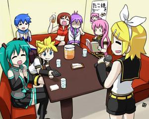 Karaoke w/ Vocaloids :3