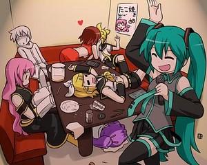 Karaoke w/ Vocaloids