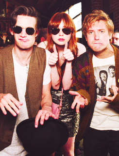 Karen, Matt and Arthur
