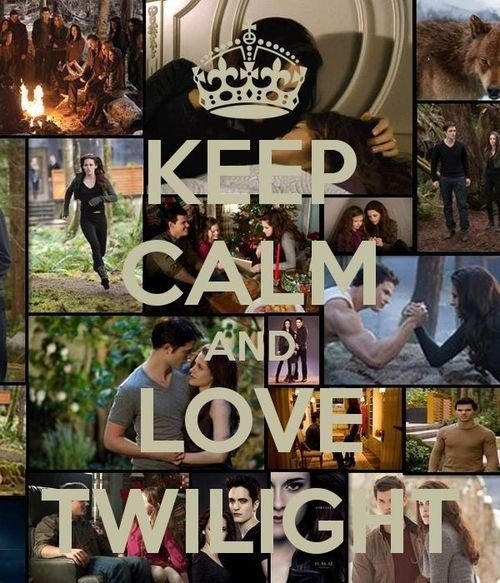 Keep calm and प्यार Twilight