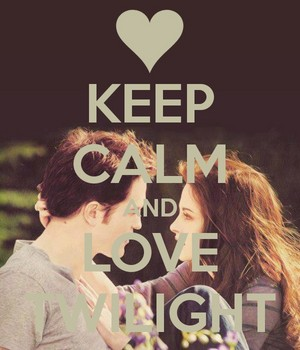 Keep calm and 사랑 Twilight