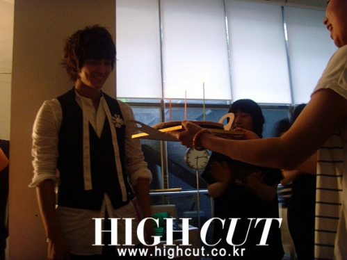 Kim Bum for 'High Cut'