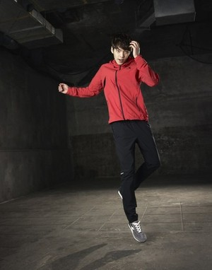 Kim Woo Bin for 'DIADORA'