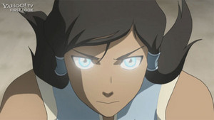 Korra book 2 almost avatar state
