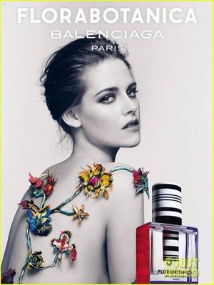 Kristen Stewart Goes Topless in New Balenciaga Ad