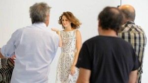 LEIGHTON MEESTER TESTIMONIAL FOR NAF NAF PHOTOSHOOT CAMPAIGN