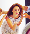 LEIGHTON MEESTER TESTIMONIAL FOR NAF NAF PHOTOSHOOT CAMPAIGN - leighton-meester photo