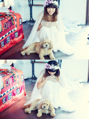 Lee Hyori and Lee Sang Soon Wedding