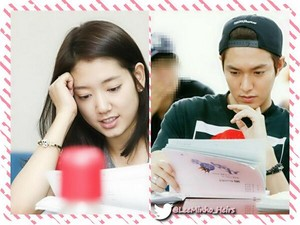 Lee Min Ho and Park Shin Hye The heirs