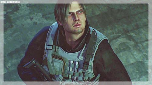 Resident Evil Damnation Leon