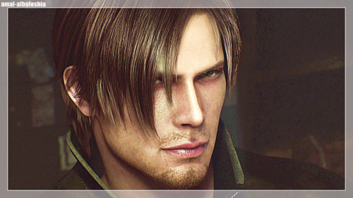 Leon Kennedy 바탕화면 with a portrait titled Leon Kennedy*_*Resident Evil Damnation