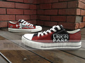 Linkin Park low top canvas shoes - linkin-park fan art