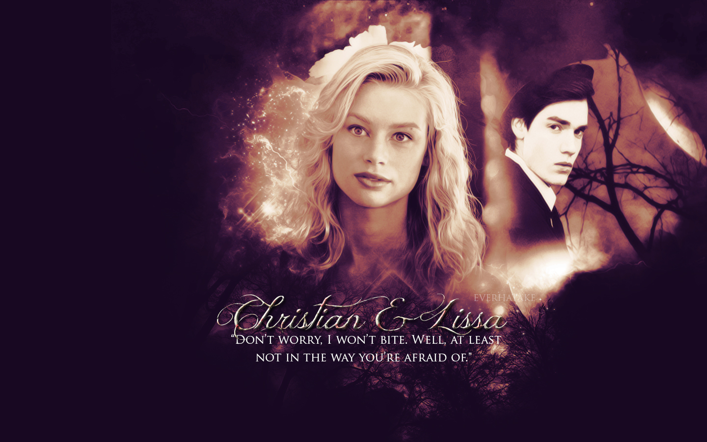 Lissa/Christian - The Vampire Academy Blood Sisters ...