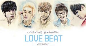 MBLAQ LOVE BEAT door SakuTori