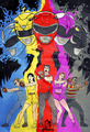 MMPR Team - mighty-morphin-power-rangers photo