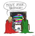 MOVE ASIDE BROTHER! :| - loki-thor-2011 fan art