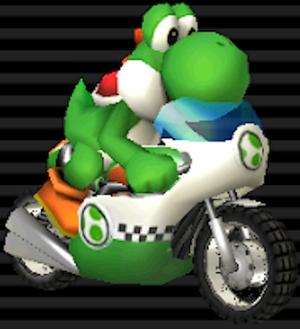 Mach Bike Yoshi/Mach Bike Birdo