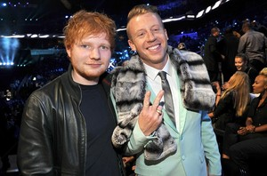 Macklemore with Ed Sheeran - VMA's 2013